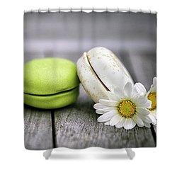Macarons Shower Curtain