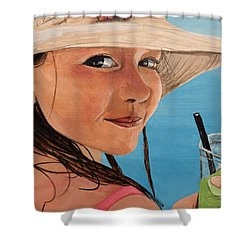 Macey Shower Curtain by Betty-Anne McDonald