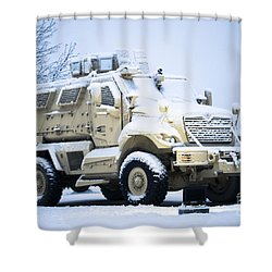 Machines Of War Shower Curtain