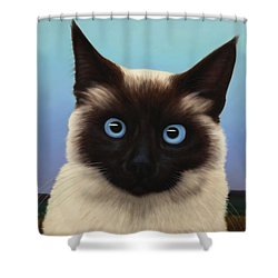 Machka 2001 Shower Curtain by James W Johnson