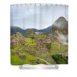 Machu Picchu. Shower Curtain