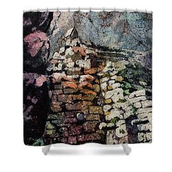 Machu Picchu Ruins- Peru Shower Curtain