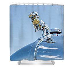 Mack Hood Ornament Shower Curtain