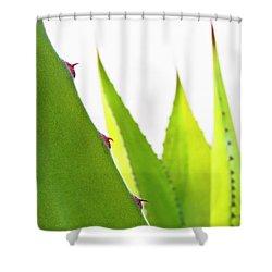 Mack The Knife 1 Shower Curtain by Skip Hunt