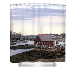 Mackerel Cove Shower Curtain