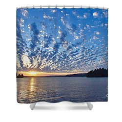 Mackerel Sky Shower Curtain