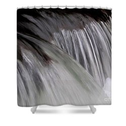 Macro Falls Shower Curtain