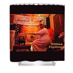 Madam Mercy  Shower Curtain by Patricia Arroyo