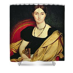 Madame Devaucay Shower Curtain by Jean Auguste Dominique Ingres