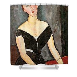 Madame G Van Muyden Shower Curtain by Amedeo Modigliani