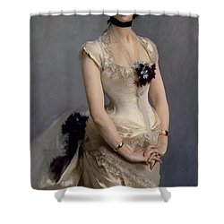Madame Paul Poirson Shower Curtain by John Singer Sargent