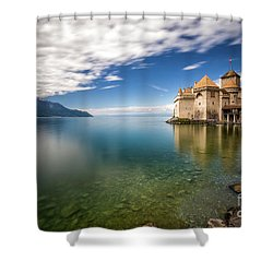Made In Switzerland Shower Curtain