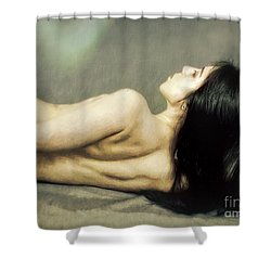 Madison  ... Shower Curtain by Chuck Caramella