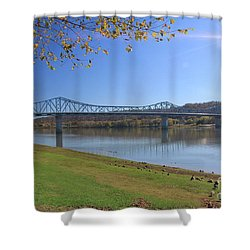 Madison, Indiana Bridge  Shower Curtain