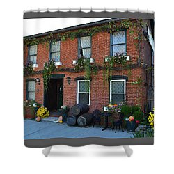 Madison Winery In Fall Shower Curtain