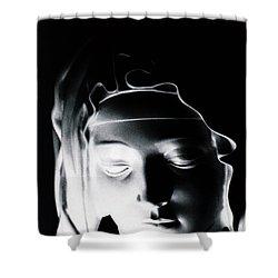 Madonna Shower Curtain by Joseph Frank Baraba