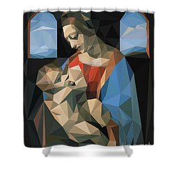 Madonna Litta Shower Curtain