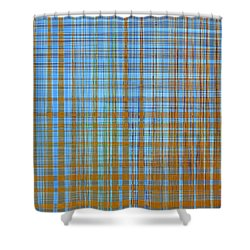 Madras Plaid Shower Curtain