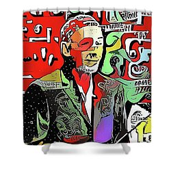 Maestro Michael Shower Curtain