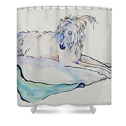 Maevis Shower Curtain by Pat Saunders-White