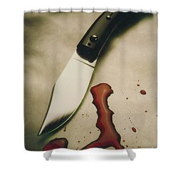 Maffia Shower Curtain