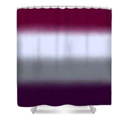 Magenta Purple - Sq Block Shower Curtain