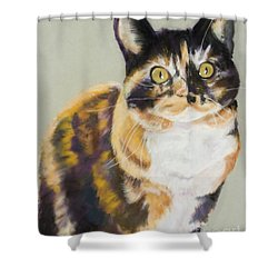 Maggie Mae Shower Curtain by Pat Saunders-White
