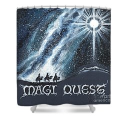 Magi Quest Shower Curtain