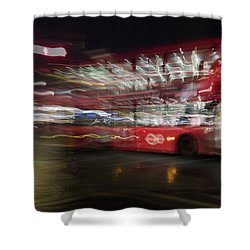 Shower Curtain featuring the photograph Magic Bus by Alex Lapidus