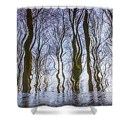 Magic Forest-26 Shower Curtain