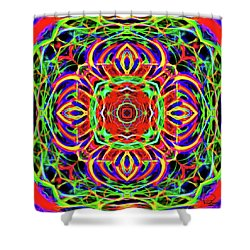 Magic Gate Shower Curtain by Ludwig Keck