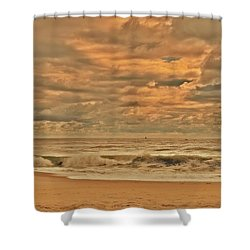 Magic In The Air - Jersey Shore Shower Curtain