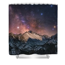 Shower Curtain featuring the photograph Magic In The Mountains by Darren White