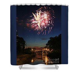 Magic In The Sky Shower Curtain