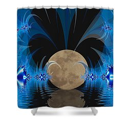 Magic Moon Shower Curtain