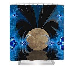 Magic Moon Shower Curtain by Geraldine DeBoer