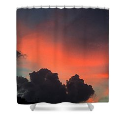 Late Day On Paros Island  Shower Curtain