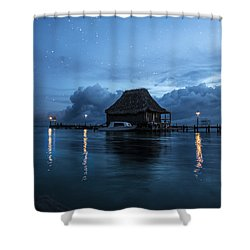 Shower Curtain featuring the photograph Magic Of A Night by Yuri Santin