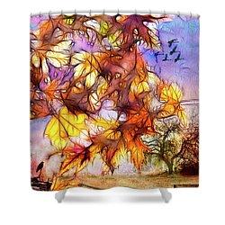 Magic Of Autumn Shower Curtain