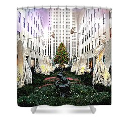 Magic Of Christmas Shower Curtain