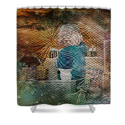 Magic Shop Shower Curtain by Kathie Chicoine