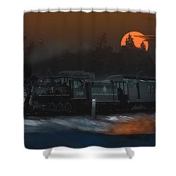 The Last Mile Before Home Shower Curtain by J Griff Griffin