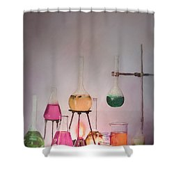 Magical Beakers Shower Curtain
