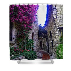 Magical Beauty In Eze France Shower Curtain