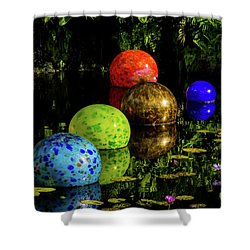 Magical Circles Shower Curtain