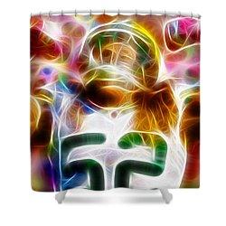 Magical Clay Matthews Shower Curtain
