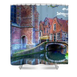 Magical Delft Shower Curtain