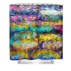Shower Curtain featuring the digital art Magical Dreams  by Riana Van Staden