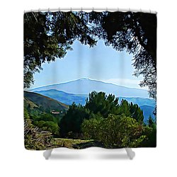 Shower Curtain featuring the photograph Magical Etna by Lucia Sirna