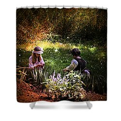 Magical Garden Shower Curtain